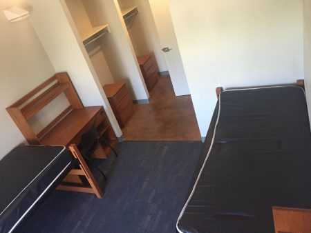 Typical Pitzer-Atherton-Sanborn Residence Hall room