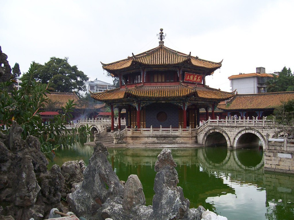 Yuantong Temple, photo by Woudloper