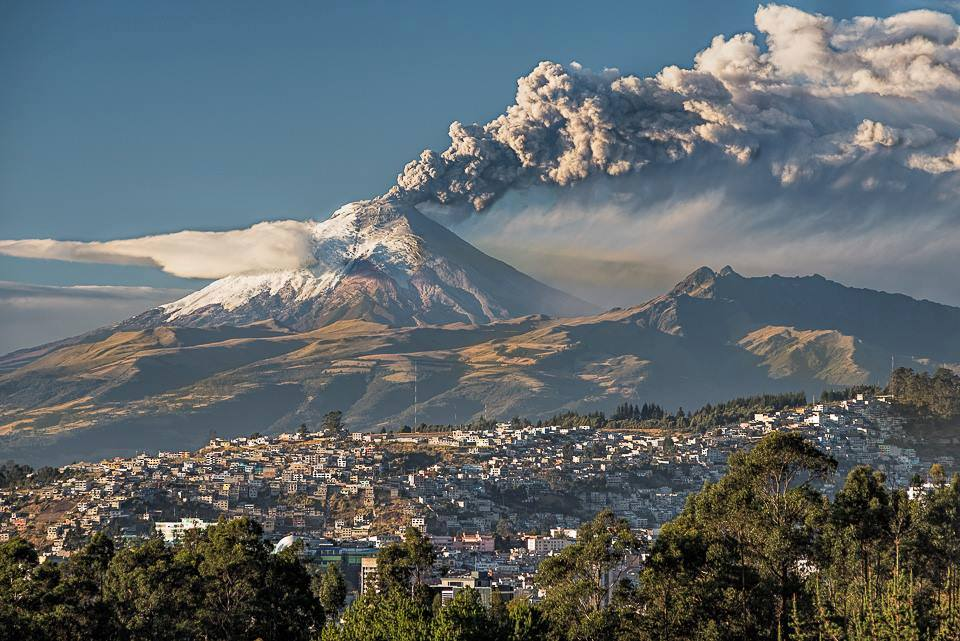 Cotopaxi 'Throat of the Moon' in the Kichwa Language. Photo by Henri Leduc Oct 2015