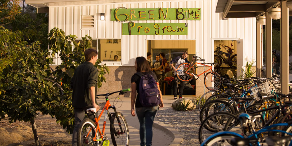 Green Bike Program building