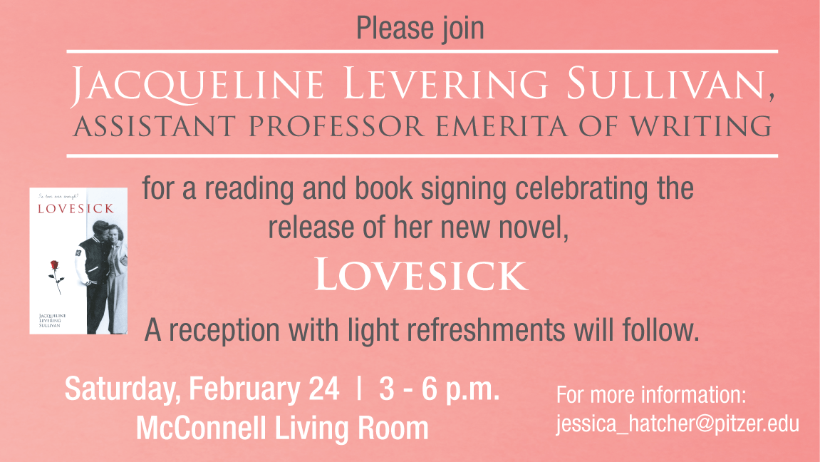 Lovesick Book Launch