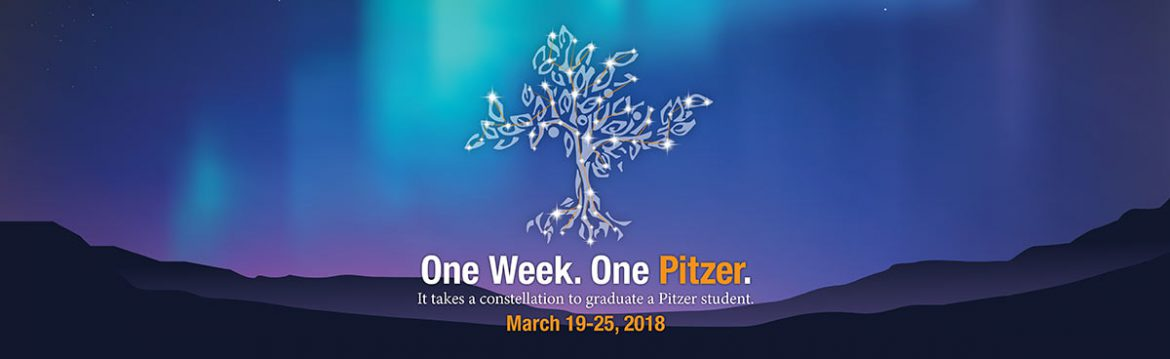 One Week. One Pitzer. It takes a constellation to graduate a Pitzer student.