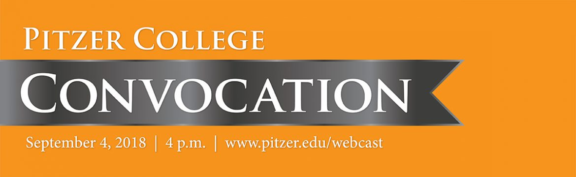 Pitzer College Convocation