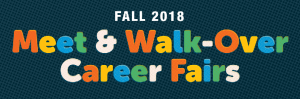 Meet and Walk-Over Career Fairs