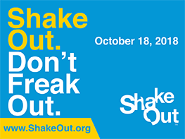 The Great ShakeOut 2018